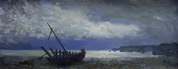 Ярослав Зяблов. Старая лодка