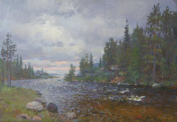 Ярослав Зяблов. Северная река.