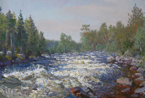 Ярослав Зяблов. Шумная река.