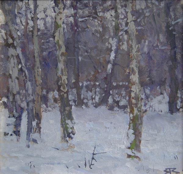 Ярослав Зяблов. В парке зимой