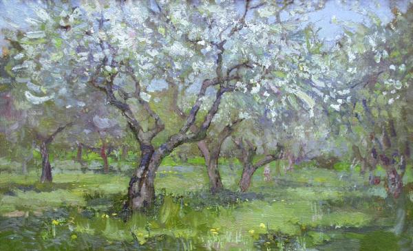 Ярослав Зяблов. Цветущий сад