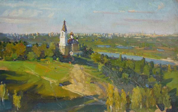 Ярослав Зяблов. Крылатские холмы