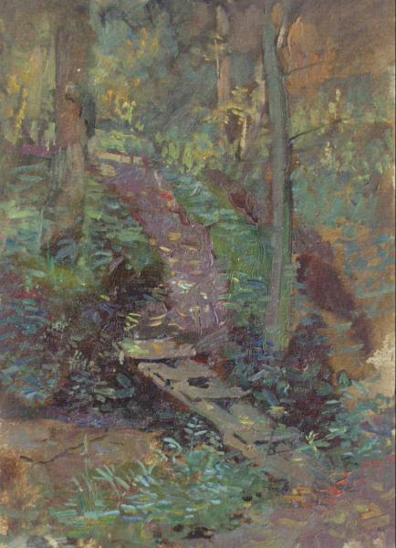 Ярослав Зяблов. Мостик в лесу