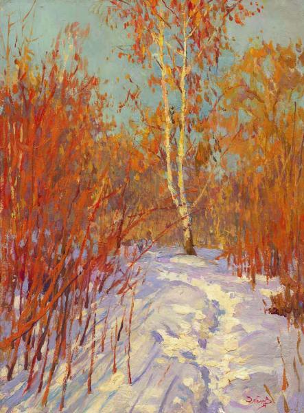 Yaroslav Zyablov. Bifurcate birch