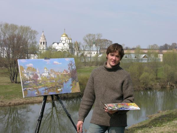 Yaroslav Zyablov. Plenair in Suzdal