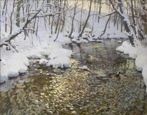 Ярослав Зяблов. Течёт река