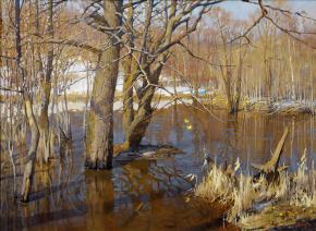 Yaroslav Zyablov. The flood of Setun'