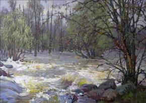 Ярослав Зяблов. Весенний поток