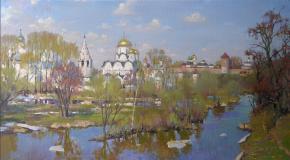 Yaroslav Zyablov. Suzdal' in spring