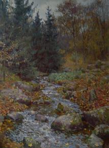 Yaroslav Zyablov. The river Kamenka