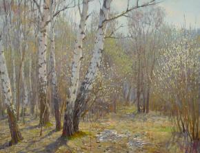 Yaroslav Zyablov. The willow blossoms