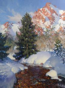 Yaroslav Zyablov. Red rocks
