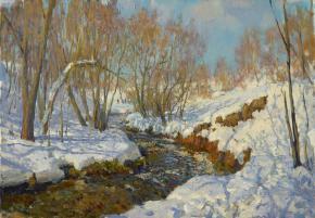 Yaroslav Zyablov. The river Ramenka