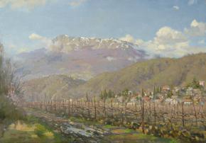 Yaroslav Zyablov. Wineyard in the Crimea