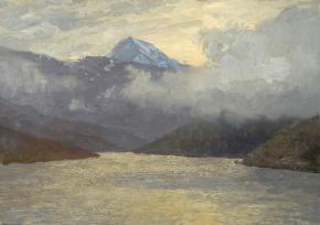 Yaroslav Zyablov. Mountain lake