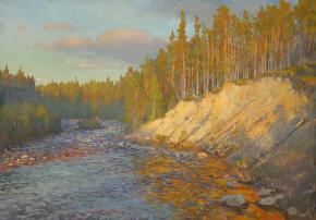 Yaroslav Zyablov. The sandy cliff.