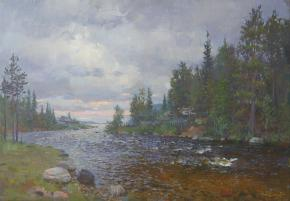 Yaroslav Zyablov. The nothern river.