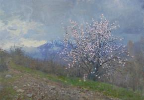Yaroslav Zyablov. Almond blossoms.