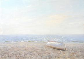 Yaroslav Zyablov. White boat.