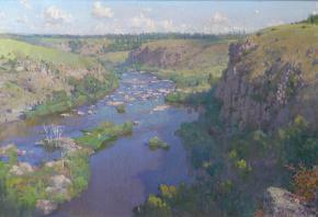 Yaroslav Zyablov. The granite Banks.