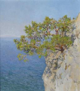 Yaroslav Zyablov. Pine over the sea.