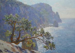 Yaroslav Zyablov. Cape Aya countr light.