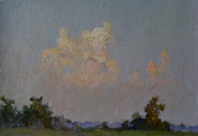 Yaroslav Zyablov. Evening sky