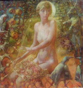 Yaroslav Zyablov. In Arcadia before...(right part of triptych)