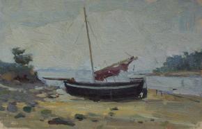 Yaroslav Zyablov. Boat in Normandy