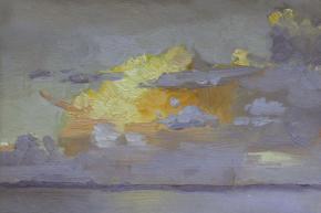 Yaroslav Zyablov. Sky above Atlantic