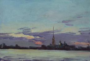 Yaroslav Zyablov. White night